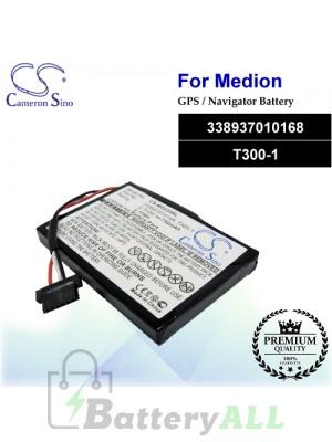 CS-MD233SL For Medion GPS Battery Model 338937010168 / T300-1