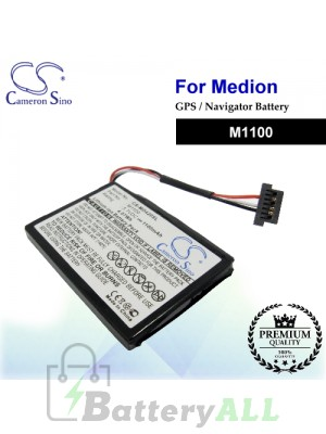 CS-MD420SL For Medion GPS Battery Model M1100