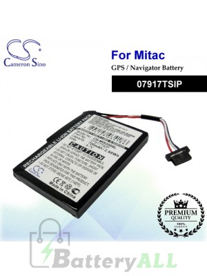 CS-MIS300SL For Mitac GPS Battery Model 07917TSIP