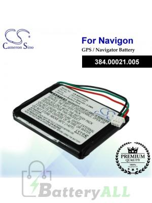 CS-NAV2200SL For Navigon GPS Battery Model 384.00021.005