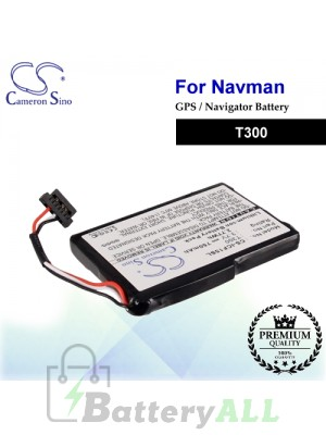 CS-ICF15SL For NAVMAN GPS Battery Model T300