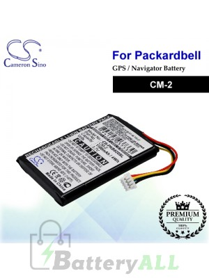 CS-PKB820SL For Packard Bell GPS Battery Model CM-2