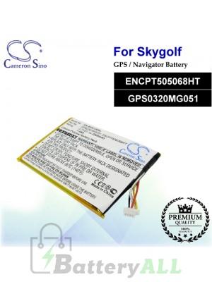 CS-SGX100SL For SkyGolf GPS Battery Model ENCPT505068HT / GPS0320MG051