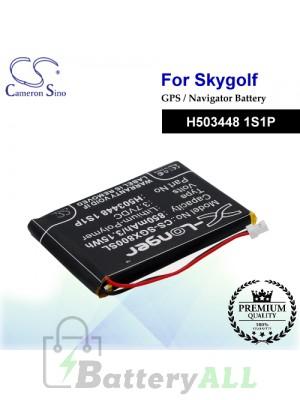 CS-SGX800SL For SkyGolf GPS Battery Model H503448 1S1P