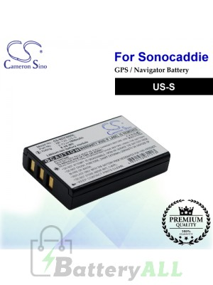 CS-SDV300SL For Sonocaddie GPS Battery Model US-S