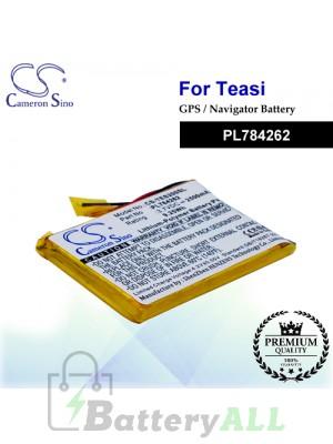 CS-TES200SL For TEASI GPS Battery Model PL784262