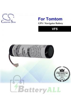 CS-TM300SL For TomTom GPS Battery Model VF5