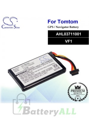 CS-TM540SL For TomTom GPS Battery Model AHL03711001 / VF1