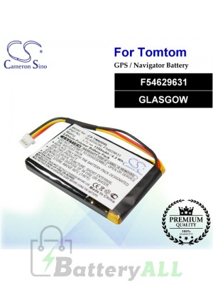 CS-TM600SL For TomTom GPS Battery Model F54629631 / GLASGOW