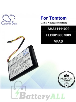 CS-TM800SL For TomTom GPS Battery Model AHA11111009 / FLB0813007089 / VFAS