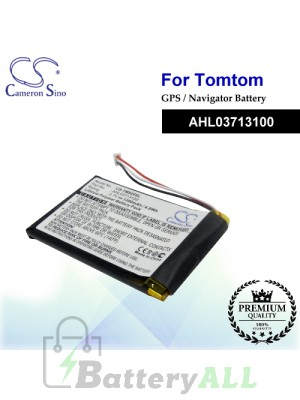 CS-TM920SL For TomTom GPS Battery Model AHL03713100