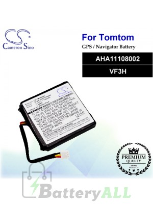 CS-TMG400SL For TomTom GPS Battery Model AHA11108002 / VF3H
