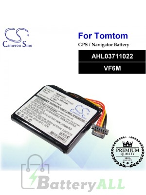 CS-TMG800SL For TomTom GPS Battery Model AHL03711022 / VF6M
