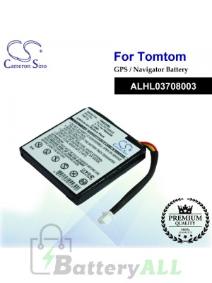 CS-TMS25SL For TomTom GPS Battery Model ALHL03708003