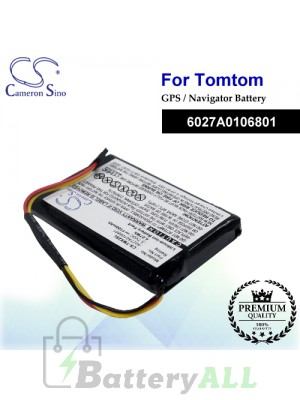 CS-TMX2SL For TomTom GPS Battery Model 6027A0106801
