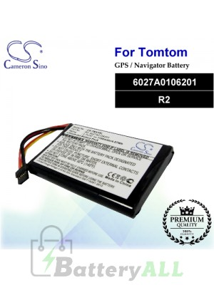 CS-TMX3SL For TomTom GPS Battery Model 6027A0106201 / R2