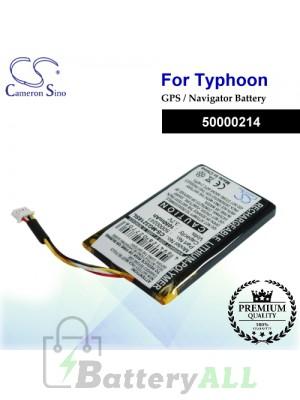 CS-MG3218SL For Typhoon GPS Battery Model 50000214