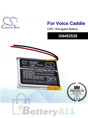 CS-VC200SL For Voice Caddie GPS Battery Model GN452528