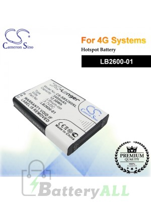 CS-SBX260XL For 4G Systems Hotspot Battery Model LB2600-01