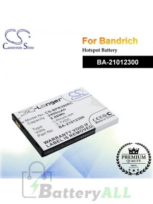 CS-BPR390RC For BandRich Hotspot Battery Model BA-21012300