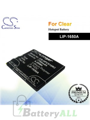 CS-HPC910RC For Clear Hotspot Battery Model LIP-1650A