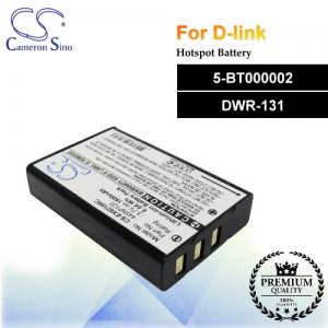 CS-EX6210RC For D-Link Hotspot Battery Fit Model 5-BT000002 / DWR-131