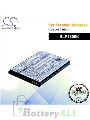 CS-FWR722SL For Franklin Wireless Hotspot Battery Model BLP1800K