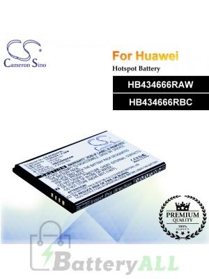 CS-HUE557SL For Huawei Hotspot Battery Model HB434666RAW / HB434666RBC