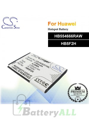 CS-HUE573SL For Huawei Hotspot Battery Model HB554666RAW / HB5F2H