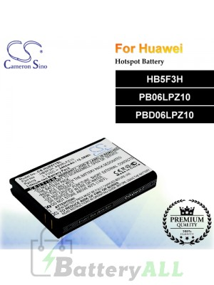 CS-HUE577SL For Huawei Hotspot Battery Model HB5F3H / PB06LPZ10 / PBD06LPZ10