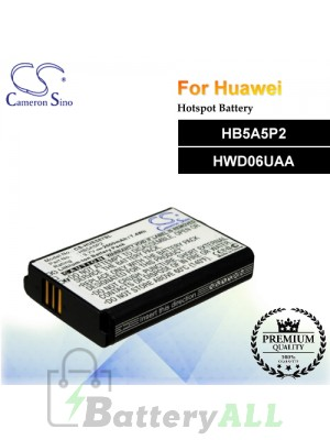 CS-HUE587SL For Huawei Hotspot Battery Model HB5A5P2 / HWD06UAA