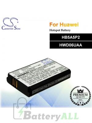 CS-HUE587SL For Huawei Hotspot Battery Model HB5A5P2 / HWD06UAA