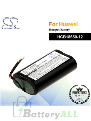 CS-HUE730SL For Huawei Hotspot Battery Model HCB18650-12