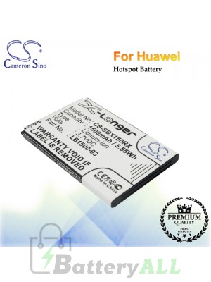 CS-SBX150RX For Huawei Hotspot Battery Fit Model E5-0315 / E50318 / E5-0318 / E5830