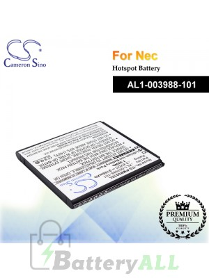 CS-PMR003SL For NEC Hotspot Battery Model AL1-003988-101