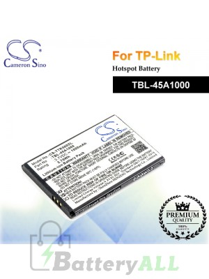 CS-TTR560SL For TP-Link Hotspot Battery Model TBL-45A1000
