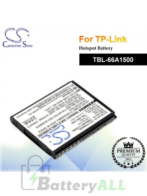 CS-TTR882SL For TP-Link Hotspot Battery Model TBL-66A1500