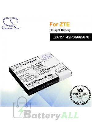 CS-ZAR910SL For ZTE Hotspot Battery Model Li3727T42P3h665678