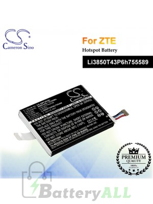CS-ZMF203SL For ZTE Hotspot Battery Model Li3850T43P6h755589