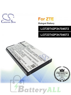 CS-ZMF900SL For ZTE Hotspot Battery Model Li3720T42P3h704572 / Li3723T42P3h704572