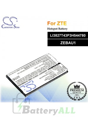 CS-ZMF975SL For ZTE Hotspot Battery Model LI3827T43P3H544780 / ZEBAU1