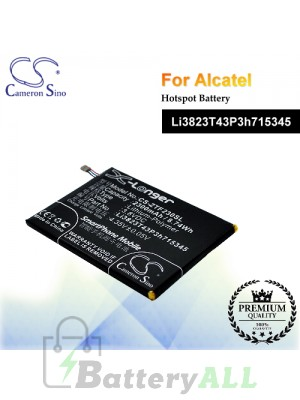 CS-ZTF230SL-2 For ZTE Hotspot Battery Model Li3823T43P3h715345