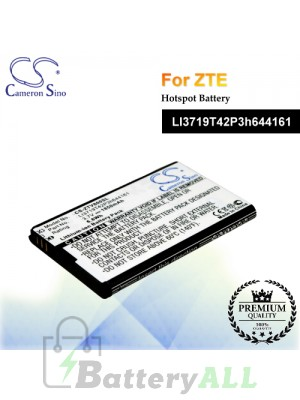 CS-ZTV800SL-2 For ZTE Hotspot Battery Model LI3719T42P3h644161