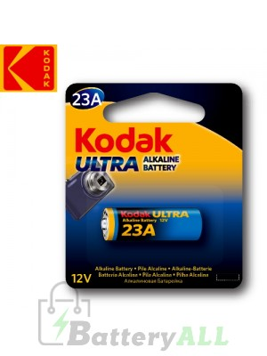 Kodak ULTRA Alkaline 23A / 1811A / K23A / MN21 / A23 12.0V Battery (1 pack)