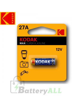 Kodak ULTRA Alkaline 27A / 8LR732 / MN27 / L828 12.0V Battery (1 pack)