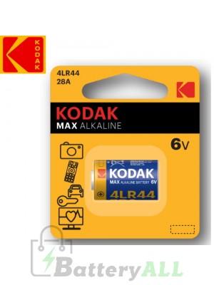 Kodak ULTRA Alkaline 28A 4LR44 / 1414A/ PX28A / A544 6.0V Battery (1 pack)