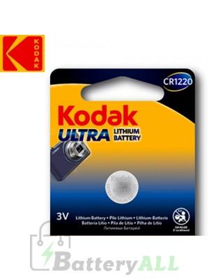 Kodak ULTRA Lithium CR1220 / 5012LC / KCR1220 / DL1220 / E-CR1220 3.0V Battery (1 pack)