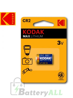Kodak ULTRA Lithium CR2 / 5046LC / DLCR2 / KCR2 / CR-2 / EL1CR2 / CR2-1 3.0V Battery (1 pack)
