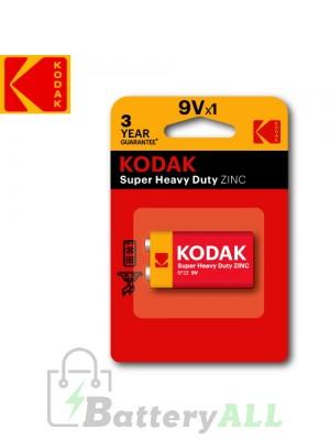 Kodak Zinc Super Heavy Duty 9V / 6F22(S-006P) / IMPA 792405 9.0V Battery (1 pack)