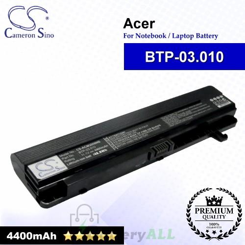 CS-ACM3000NB For Acer Laptop Battery Model BTP-03.010